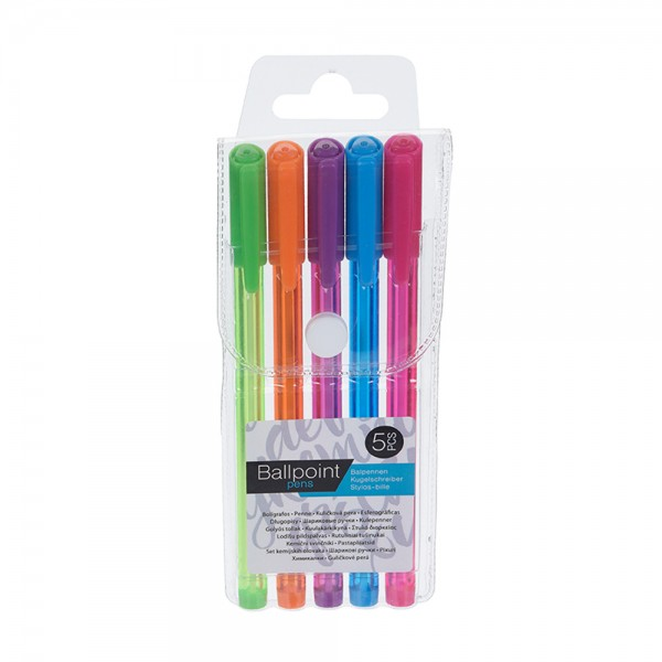 BALLPOINT SET IN POUCH 526992-V001 by EH Excellent Houseware