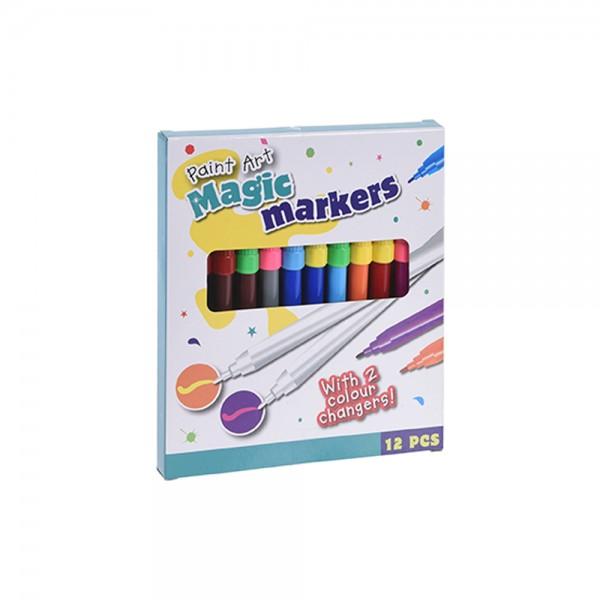 EH Magic Felt Pens 12pcs 527004-V001 by EH Excellent Houseware