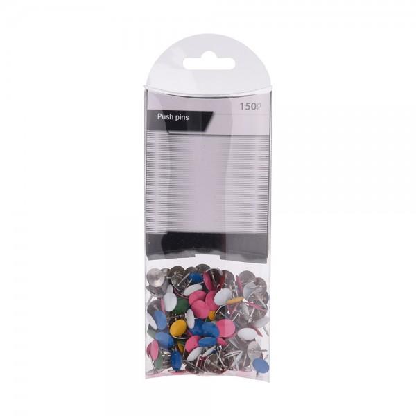 EH Pushpins Multicolor 150 pcs 527093-V001 by EH Excellent Houseware