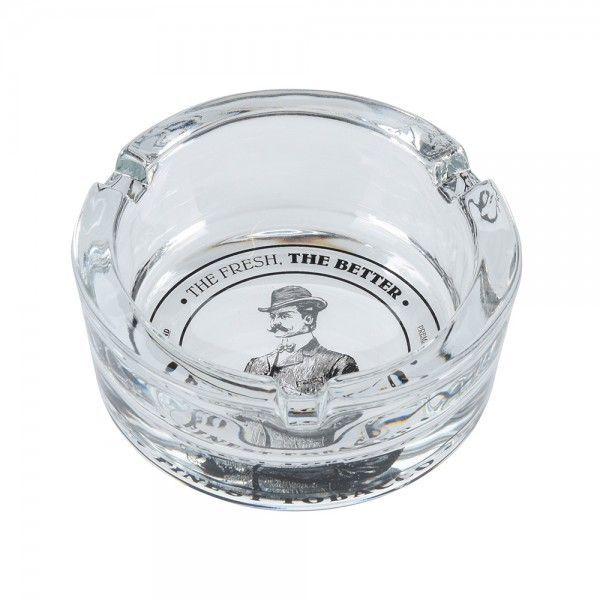 Eh Ashtray Glass Mixed Design - 1Pc 527112-V001 by EH Excellent Houseware