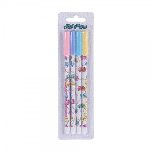 EH Gelpen Back To School Set 4PC 527199-V001 by EH Excellent Houseware