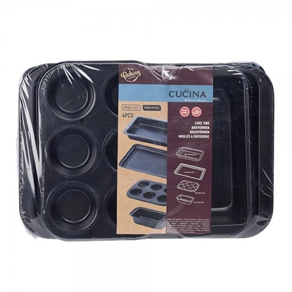 La Cucina Baking Set Metal - 4Pc 527260-V001 by La Cucina