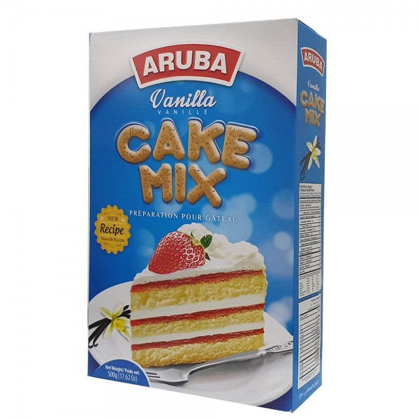 ARUBA Cake Mix Vanilla 500g 527292-V001 by Aruba