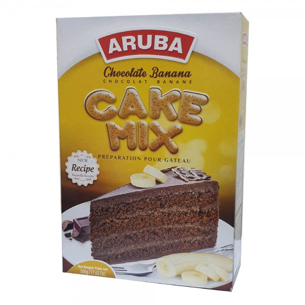 ARUBA Cake Mix Choco-Banana 500g 527295-V001 by Aruba