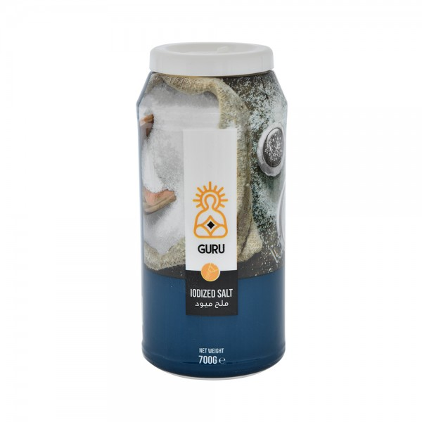 Guru Iodized Fine Salt Bottle 527315-V001 by Guru