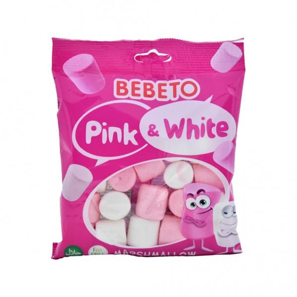 Bebeto Marshmallow Pink And White - 60G 527344-V001 by Bebeto