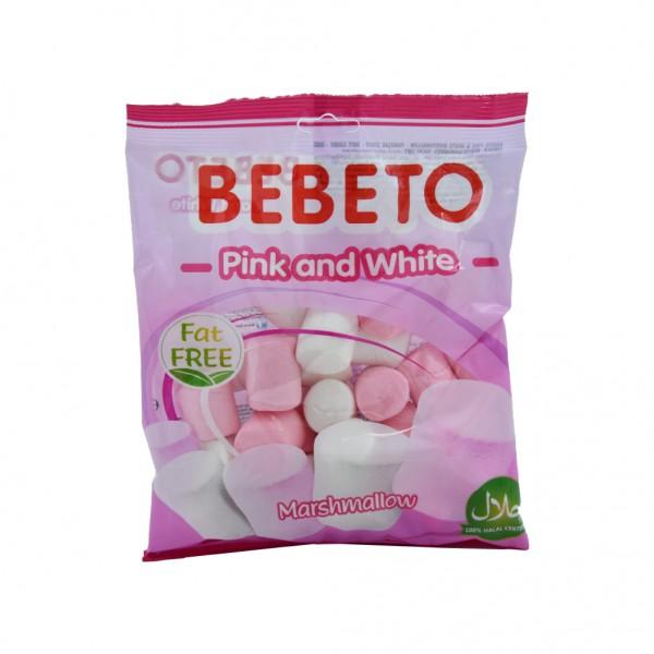 Bebeto Marshmallow Pink And White - 135G 527345-V001 by Bebeto