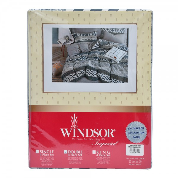 Windsor Bedspread Satin Waves Double - 4Pc 527571-V001 by Windsor Imperial