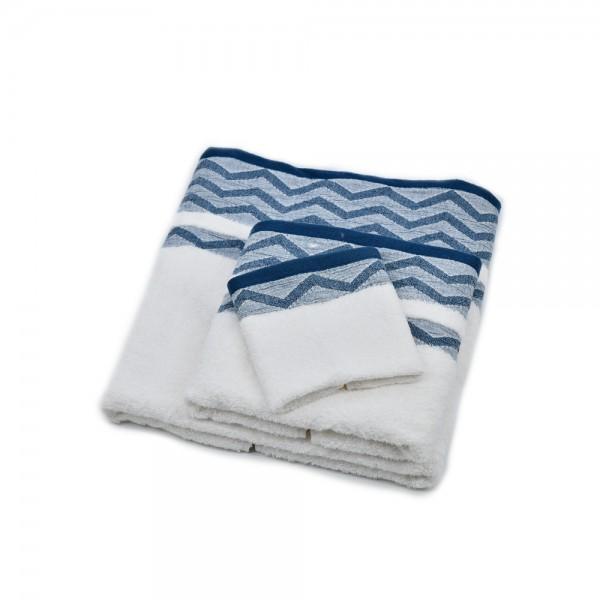 Windsor Towel Jacquard Waves - 50X90Cm 527590-V001 by Windsor Imperial
