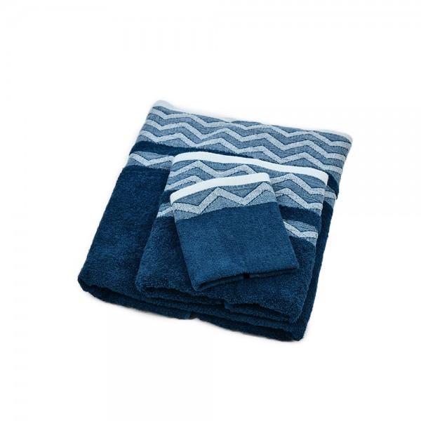 Windsor Towel Jacquard Waves - 70X140Cm 527591-V001 by Windsor Imperial