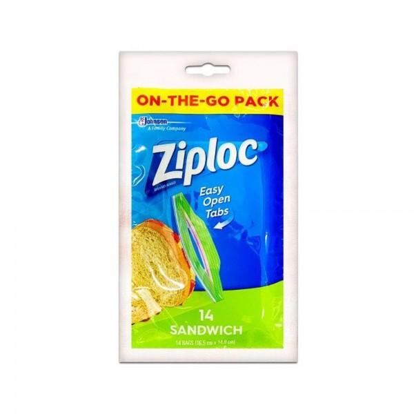 Ziploc Sandwich Bag 14pc 527767-V001 by Ziploc