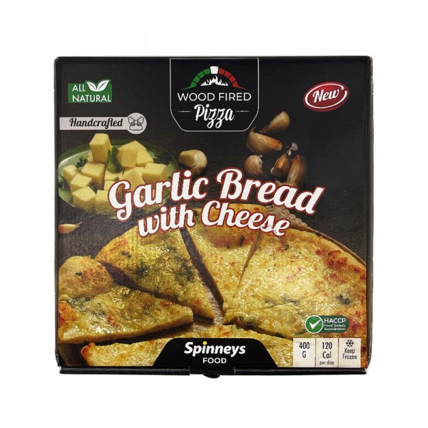 Wood Fired Garlic Cheese Bread 527775-V001 by Spinneys Food