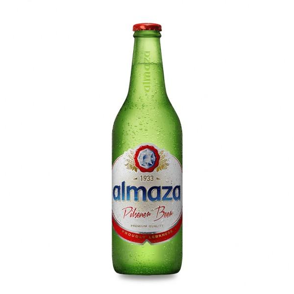 Almaza Beer Bottle - 500Ml 135307-V001 by Almaza