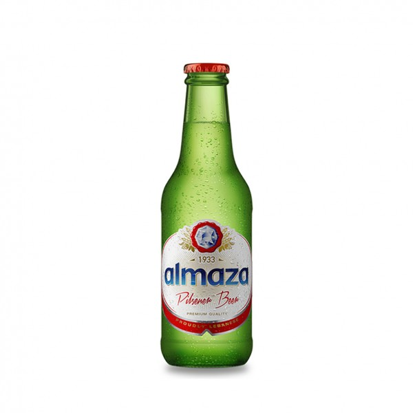 Almaza Local Beer Bottle 250ml 473782-V001 by Almaza