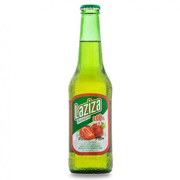 Laziza Beer Strawberry - 330Ml 482513-V001 by Laziza
