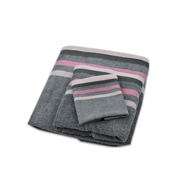 Windsor Hand Towel Jacquard Multistripe - 50X90 528212-V001 by Windsor Imperial