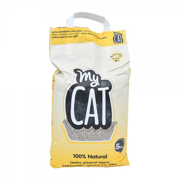 MY CAT Natural cat Litter  5kg 528588-V001 by My Cat