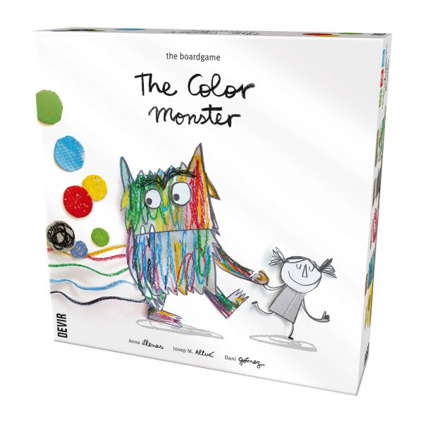 Devir, Color Monster, 1PC 528722-V001 by Devir Games