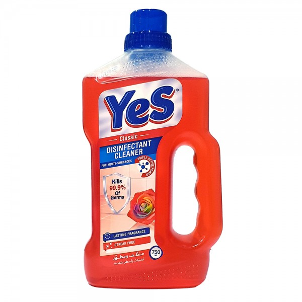 Yes Floor Cleaner Disinfectant Classic - 750Ml 528785-V001 by Yes
