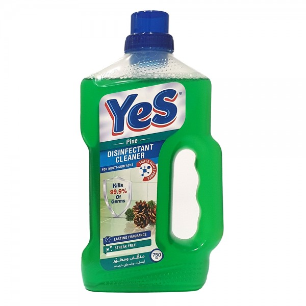 Yes Floor Cleaner Disinfectant Pine - 750Ml 528786-V001 by Yes