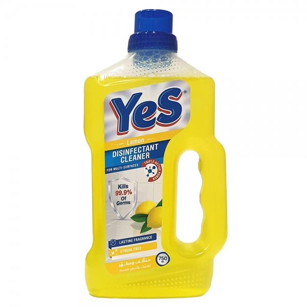 Yes Floor Cleaner Disinfectant Lemon - 750Ml 528787-V001 by Yes