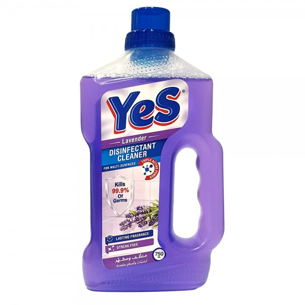 Yes Floor Cleaner Disinfectant Lavender - 750Ml 528788-V001 by Yes