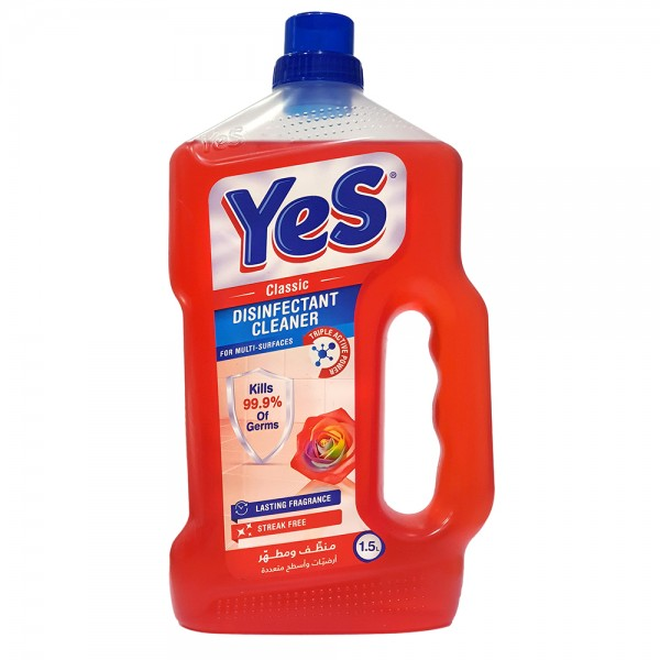 Yes Floor Cleaner Disinfectant Classic - 1.5L 528789-V001 by Yes