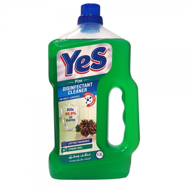 Yes Floor Cleaner Disinfectant Pine - 1.5L 528790-V001 by Yes
