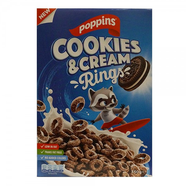 Poppins Choco Rings Cookies+Cream 528808-V001 by Poppins