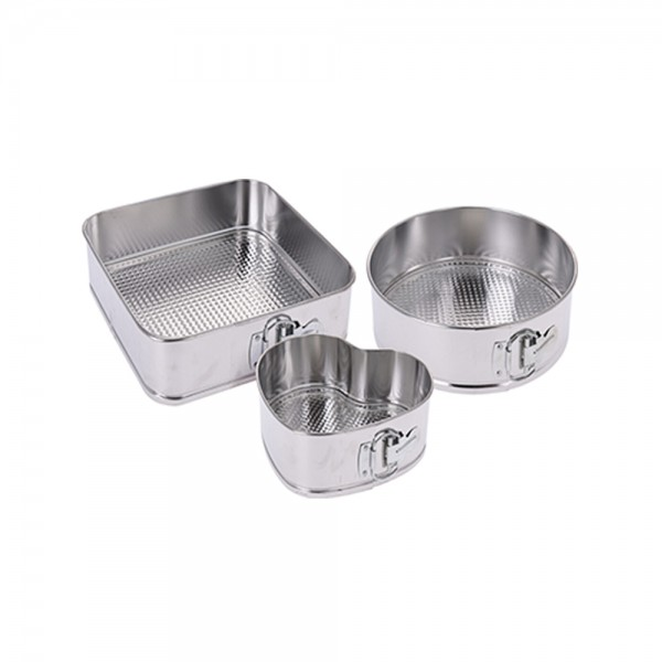 SPRING FORM STAINLESS 3 SHAPES 528919-V001 by La Cucina
