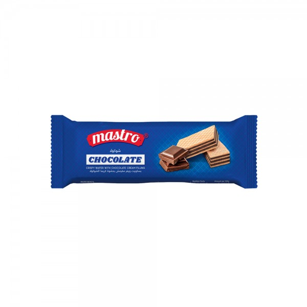 Mastro Wafer Chocolate Cream - 14G 528968-V001 by Mastro