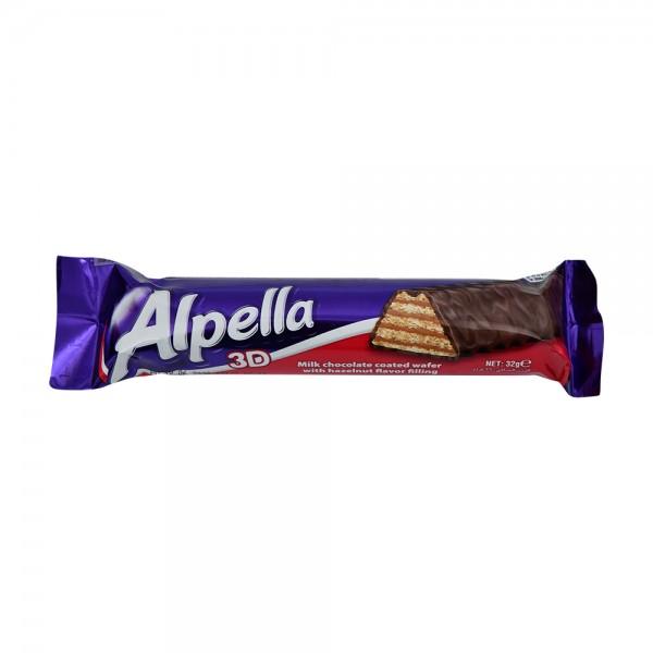 Ulker Alpella 3D Milk Choc - 32G 529095-V001 by Ulker