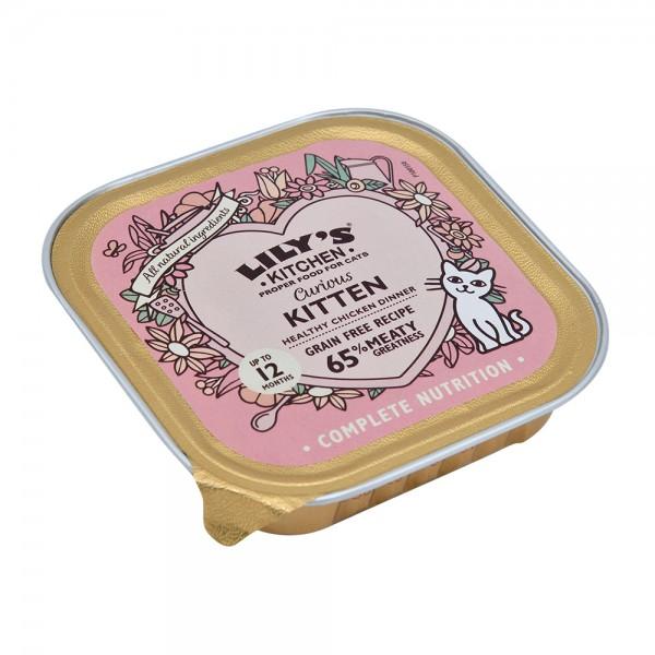 Lily Ktchn Curious Kitten - 85G 529241-V001 by Lily's Kitchen