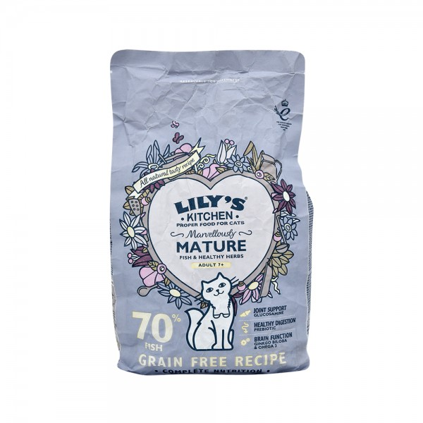 Lily Ktchn Marvellously Mature Dry Food - 800G 529266-V001 by Lily's Kitchen