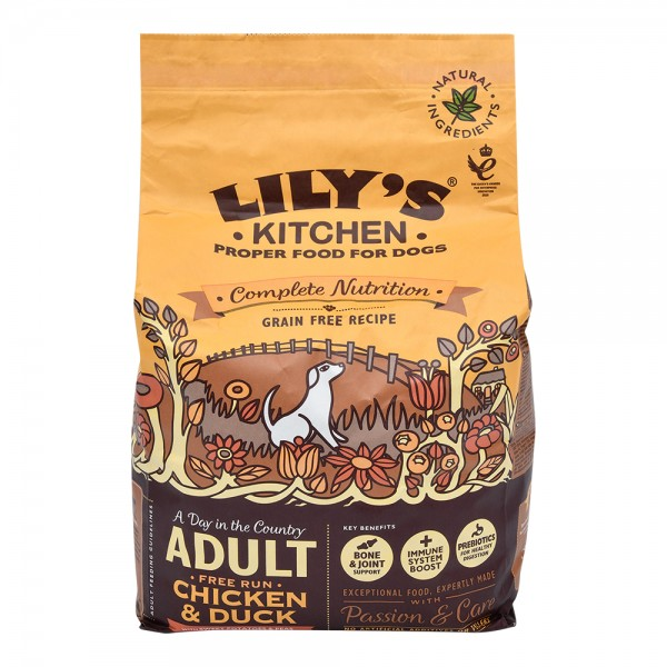 Lily Ktchn Chicken And Duck Dry Food - 2.5Kg 529267-V001 by Lily's Kitchen