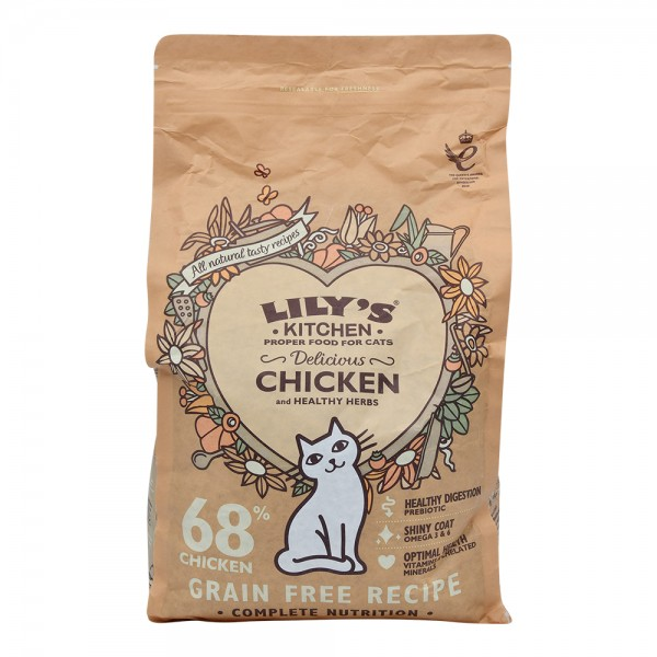 Lily Ktchn Delicious Chicken Dry Food - 2Kg 529272-V001 by Lily's Kitchen