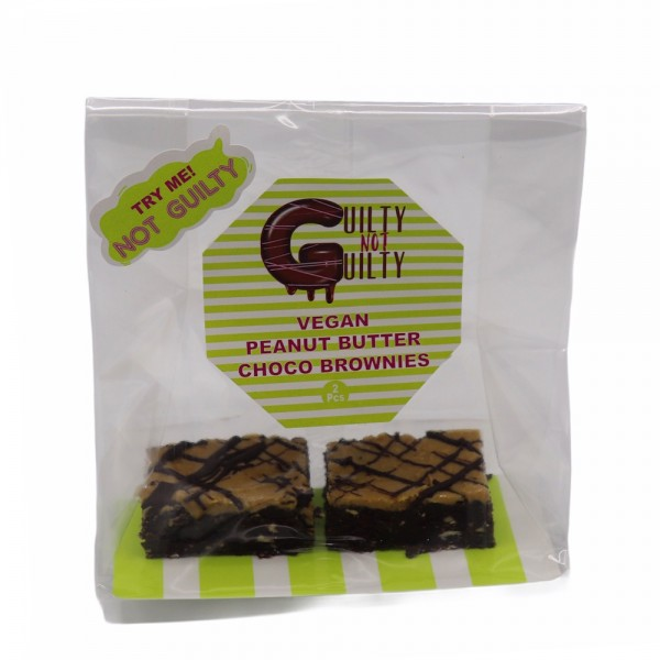 Not Guilty Peanut Butter Choco Brownies 2PC 529282-V001 by Guilty Not Guilty