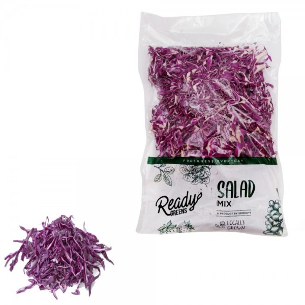 Ready Greens Cabbage Red Shredded 300g 529333-V001 by Ready Greens