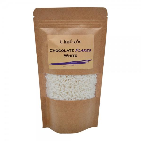 ChoCo'a Chocolate Flakes White 200G 529354-V001 by Choco'a Chocolate