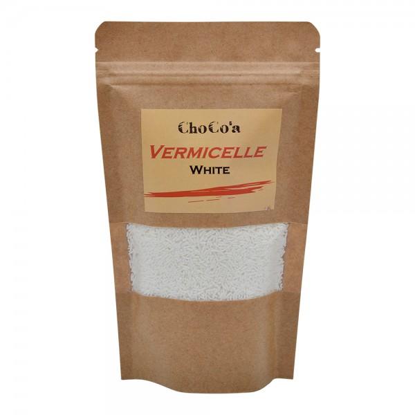 ChoCo'a Vermicelle White 200G 529357-V001 by Choco'a Chocolate
