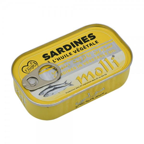 Molli Sardine In Vegetable Oil  - 125G 529618-V001 by Molli