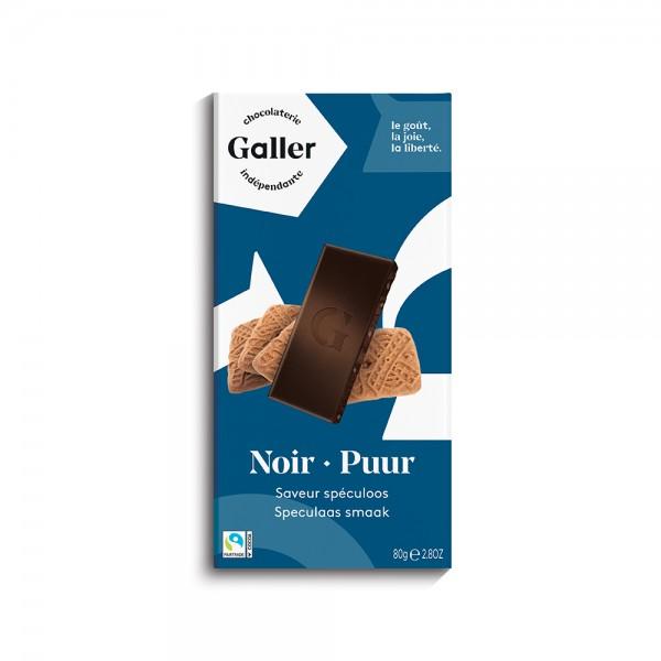 Galler Tablet Noir Speculoos 529860-V001 by Galler Chocolatier