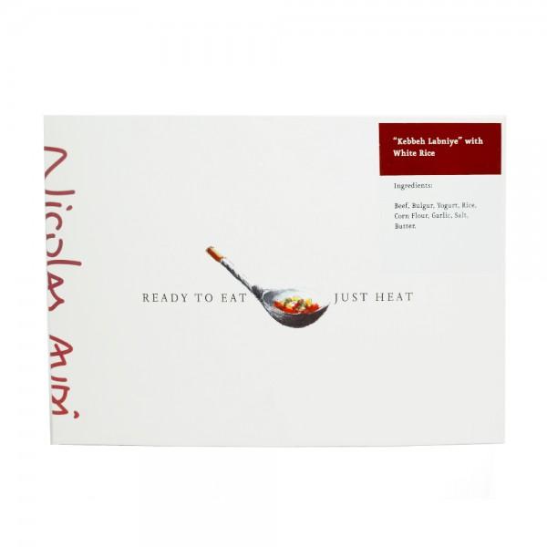 KEBBEH LABNIYE WITH WHITE RICE 529865-V001 by Nicolas Audi
