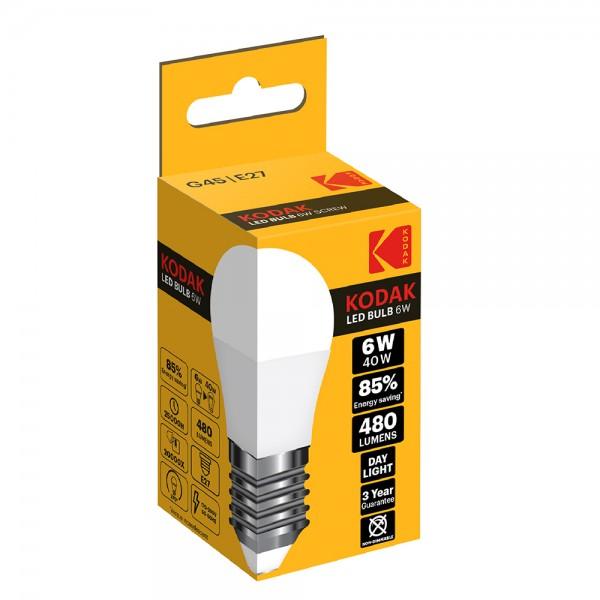 Kodak Led Bulb G45 E27 Day - 6W 529869-V001 by Kodak