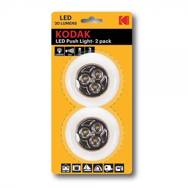 Kodak Led Push Light Pack Of 2 - 1Pc 529877-V001 by Kodak