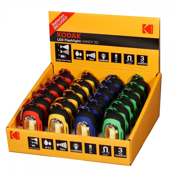 Kodak Led Flash Light Handy Green - 1Pc 529887-V001 by Kodak