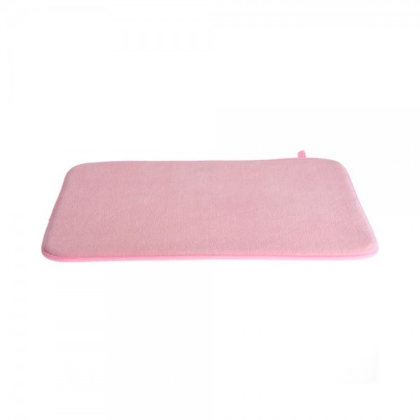 BATH MAT POLYESTER MIXED COLOR 40X60CM 530040-V001 by Bathroom Solutions