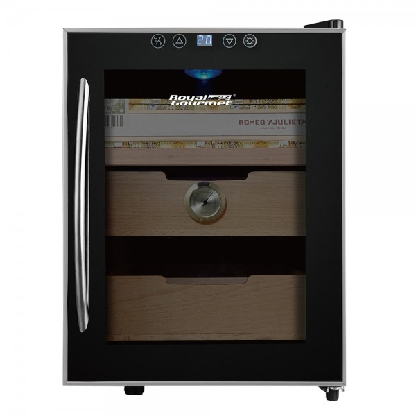 R. Gourmet Cigar Humidor with 1 drawer and 2 shelves 530133-V001 by Royal Gourmet Corporation