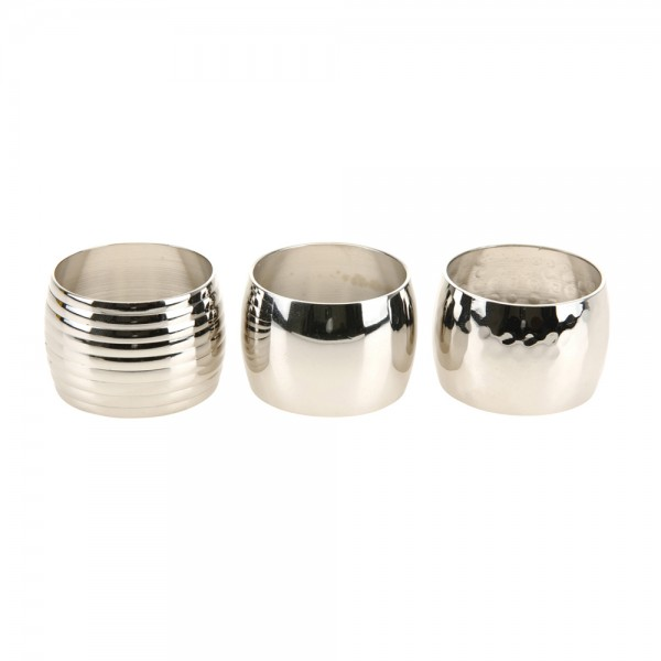 Eh  Napkin Ring Mixed Design 3Cm - 1Pc 530344-V001 by EH Excellent Houseware