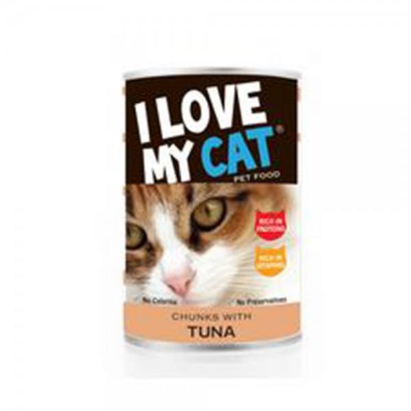 LOVE MYCAT Tuna Chunks Cat Food 400g 530453-V001 by I Love My Cat